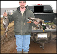 duck harvest from Estrella Hunting Ranch, East Texas